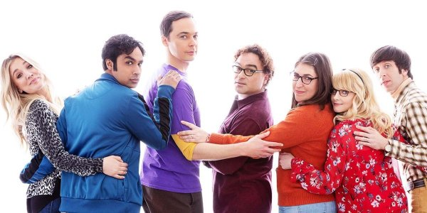 The Cast of The Big Bang Theory on the Season 12 Poster