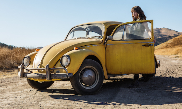 Bumblebee e Hailee Steinfeld no spin-off