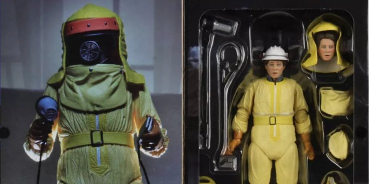 Back To The Future Spacesuit Marty McFly Action Figure
