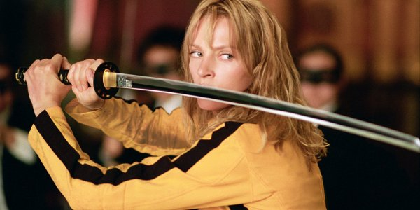 Kill Bill Vol. 1 Uma Thurman swordplay