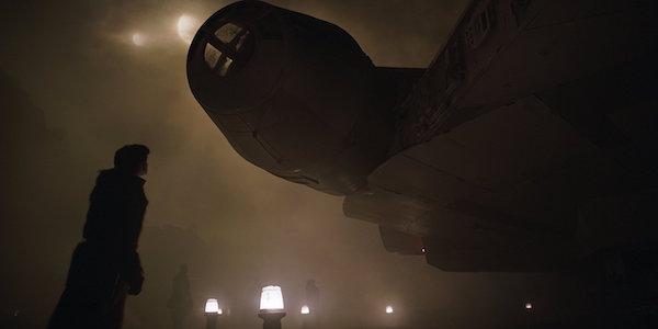 Han Solo and the Millennium Falcon