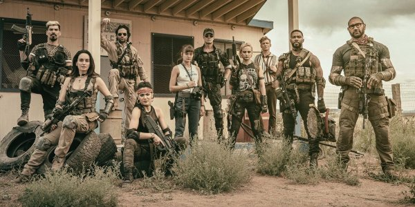 The cast of Army of the Dead