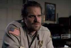 David Harbour Guarantees He'll Get His 'Dad Bod' Again After Hellboy