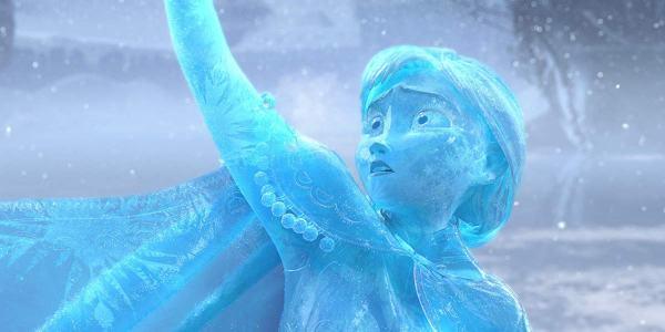 Frozen Anna in 2013 Disney movie
