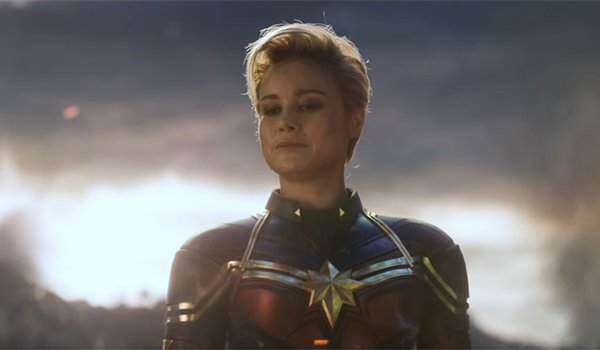 Captain Marvel dans Avengers: Endgame