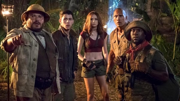 The cast of Jumanji: Welcome to the Jungle