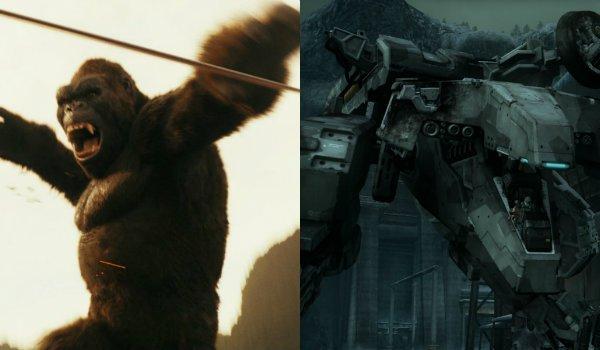 Kong Skull ISland Metal Gear Solid 4 guns of the patriots