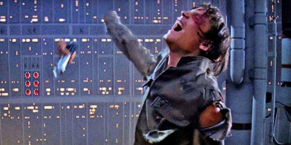Luke losing his arm in Star Wars
