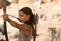 One Factor Alicia Vikander Didn't Notice About Placing On Muscle For Tomb Raider