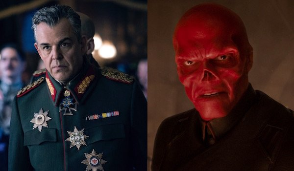 Erich Ludendorff and Red Skull