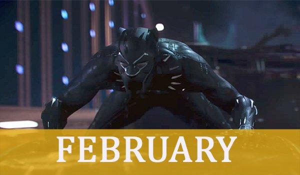 february 2018 marvel's black panther