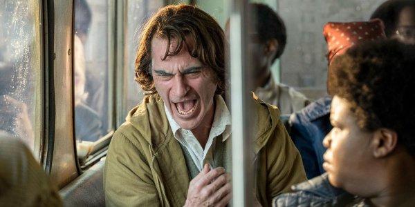 Joker Laughing in trailer still 2019