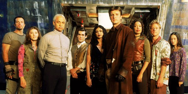 Don't Sleep on Firefly - Image of the crew from the TV Show Firefly.