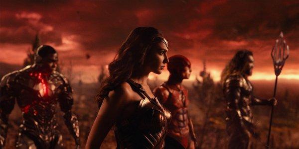 Justice League Cyborg Wonder Woman Flash Aquaman
