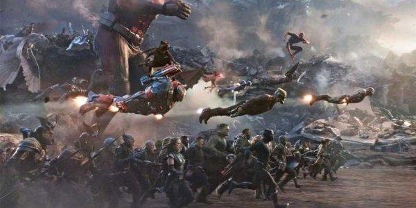 Screenshot From Avengers: Endgame