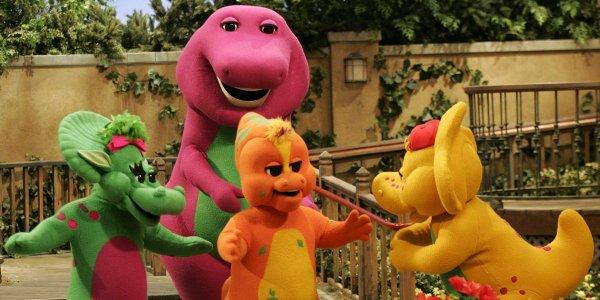 Barney on Barney & Friends