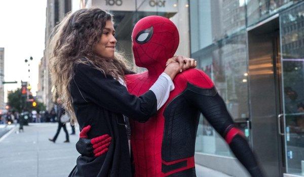 Spider-Man and Zendaya