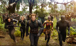 Anthony Mackie And Chris Evans Discuss That Loopy Avengers: Infinity Battle Scene With 40 Heroes