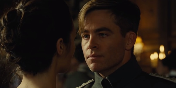 Image result for chris pine as steve trevor