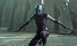 Avengers: Infinity Conflict&#zero39;s Karen Gillan Can Lastly Take A Break From All The Blue Make-up