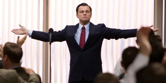 The Real Wolf Of Wall Street Reacts To The GameStop Market Drama By Using A Scene From Leonardo DiCaprio's Movie