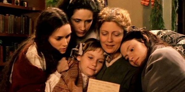 Susan Sarandon, Kristen Dunst, and Winona Ryder in Little Women