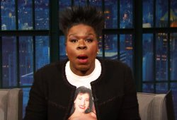 Watch Leslie Jones' Gross SNL Story About Virtually Throwing Up On James Franco