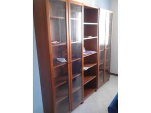 Top Libreria Billy Ikea Con Anta A Vetro Posot Class