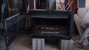Caminetto A Legna Ventilato Kingfire 73 Posot Class