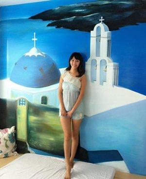 ▌宜蘭民宿▌遇見幸福♥浪漫藍白地中海風˙幸福藍星♥