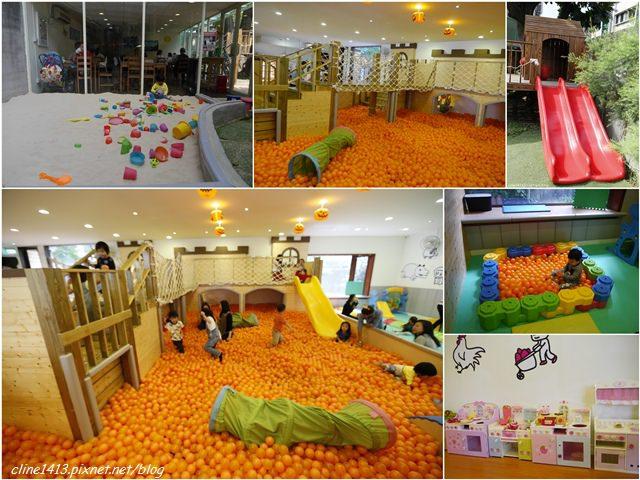▌台北親子餐廳▌♥大樹先生的家♥城堡球池.樹屋溜滑梯,沙坑,室內戶外都好玩的親子空間