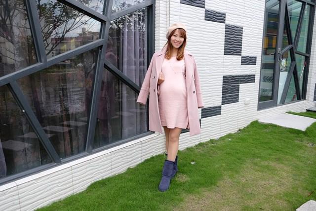 ▌35週孕期穿搭▌孕婦也能穿的很優雅♥Melody in wonderland♥ 12月冬裝分享
