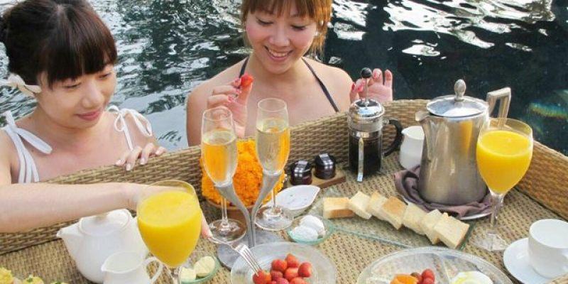 ▌峇里島住宿▌♥AYANA Resort and Spa 阿雅娜水療度假飯店♥超炫漂浮早餐、懸崖酒吧Rock Bar、UNIQUE屋頂酒吧、KISIK BAR海鮮晚餐(美食篇)
