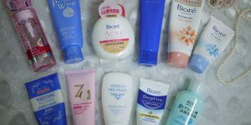 【夏季保養清潔篇】小資人妻分享10 款平價好用洗面乳
