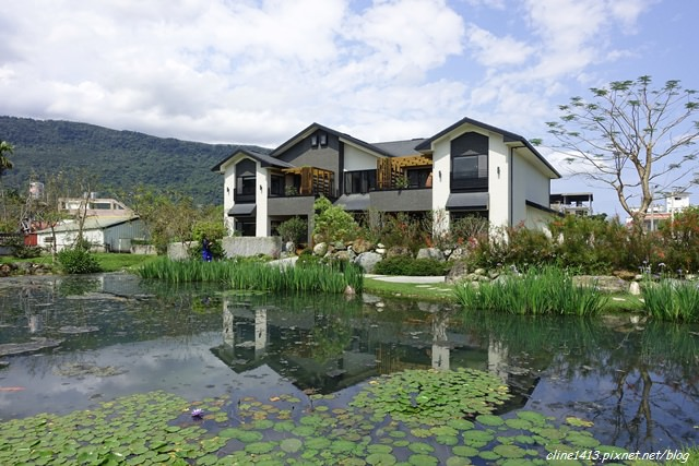 ▌花蓮民宿▌會呼吸的民宿♥綠柳莊民宿♥湖畔楊柳垂青。小橋流水好景緻