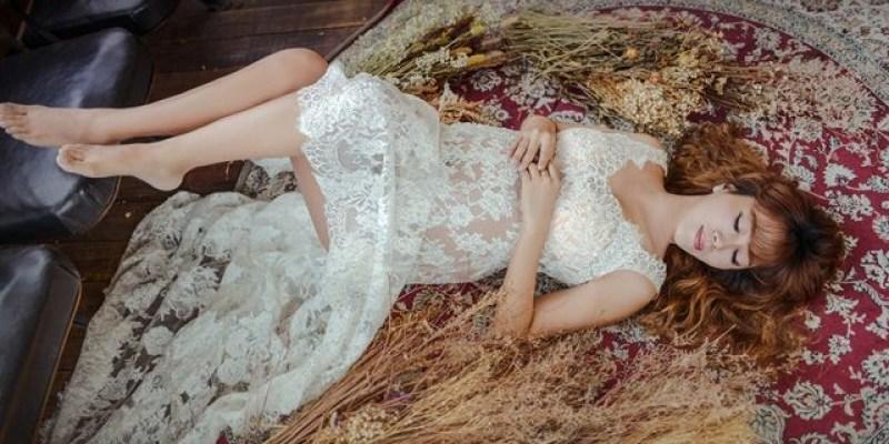 ▌35週孕婦寫真▌浪漫華麗孕婦寫真♥封肚前最美的回憶♥女攝影師琪琪小姐X半生不熟蘋果誌