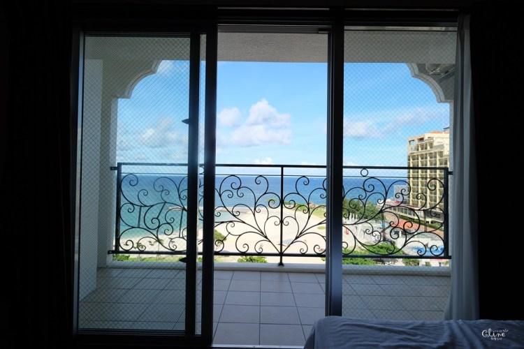 ▌沖繩高cp值海景飯店▌無敵海景【Monpa公寓式飯店】有簡易廚房、鄰近美國村、日落沙灘、AEON購物中心