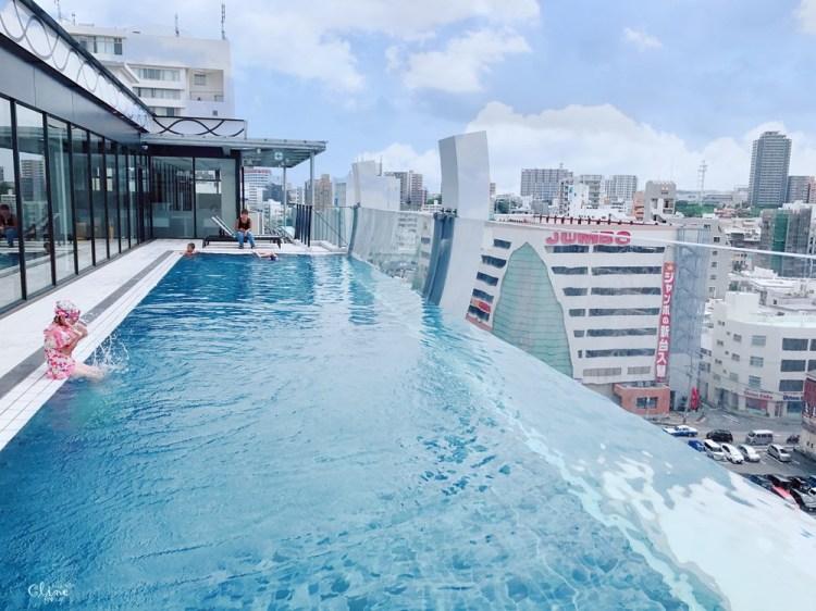 ▌沖繩住宿▌WBF水之都那霸酒店Hotel Aqua Citta Naha by WBF、無邊際泳池、有適合家庭的連通房