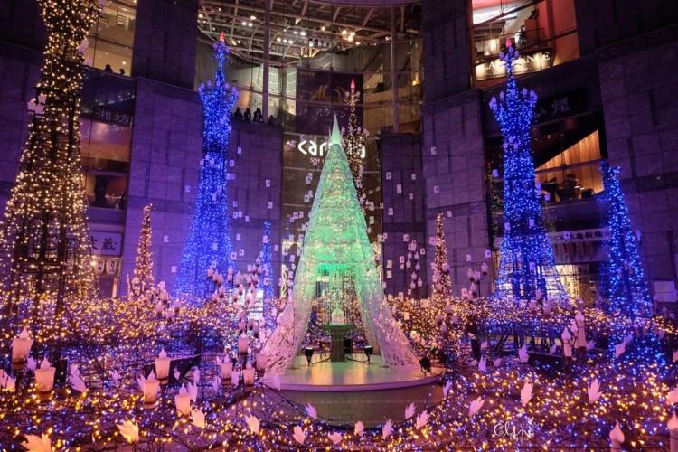 ▌2018東京聖誕燈飾▌東京最美【Caretta汐留浪漫點燈】冰雪奇緣、魔髮奇緣輪番上場