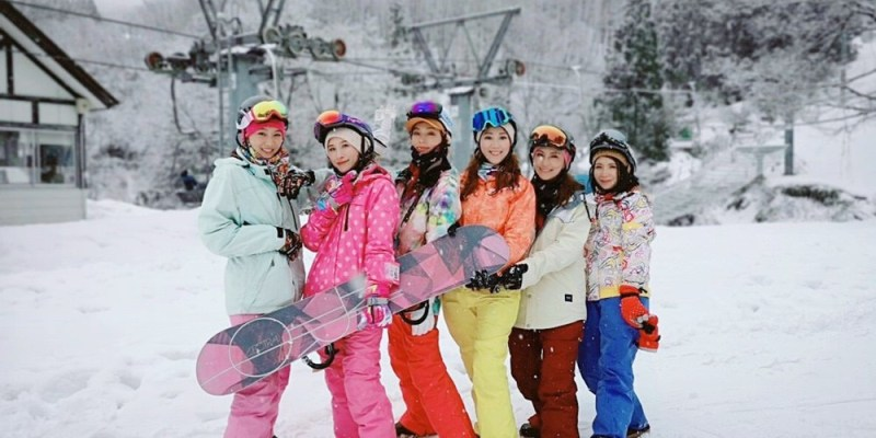 ▌日本滑雪  ▌陽光男孩上越國際滑雪場,滑雪中毒心得