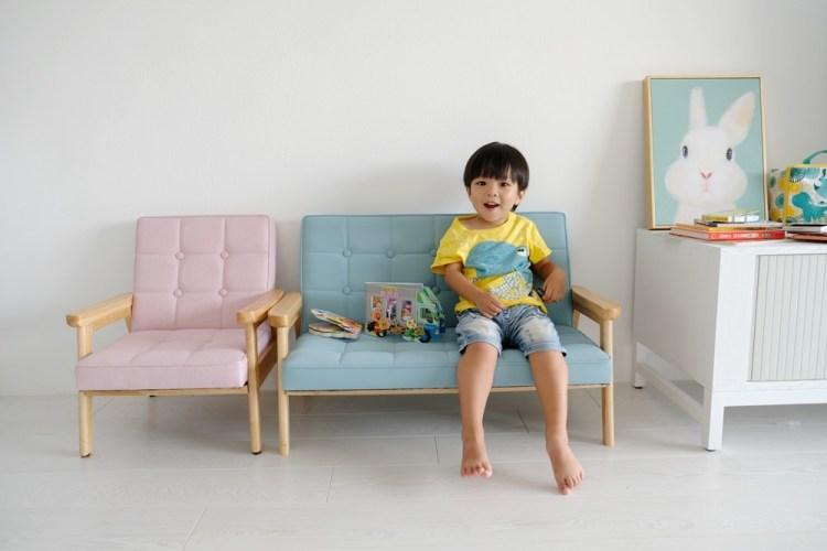 ▌團購 ▌超可愛! 澳洲 BunnyTickles 北歐風實木兒童沙發&麵包超人遊戲書&英國Little Brian兒童水彩棒