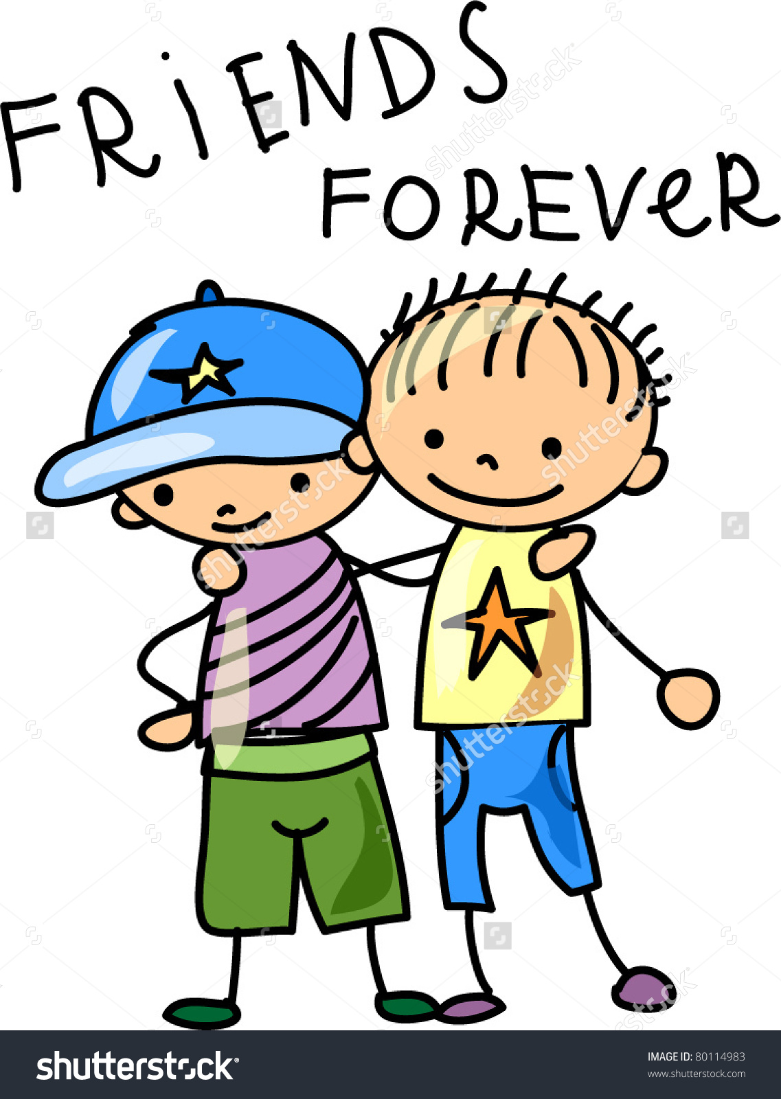 94 Best Friends Clipart