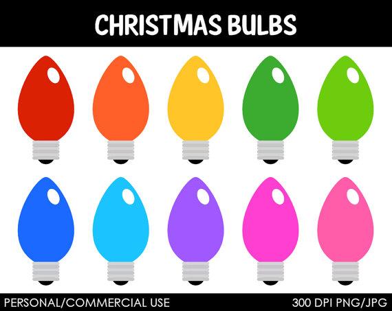 Christmas Light Bulb Drawing