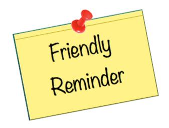79+ Friendly Reminders... Friendly Reminder Clip Art ...
