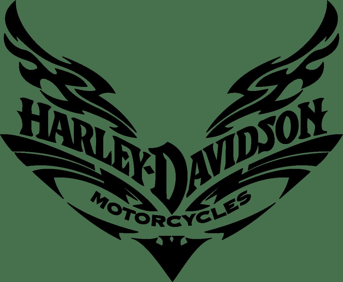 86 Harley Davidson Clipart