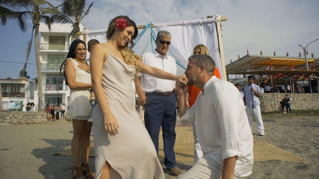 El programa de Gisela Valcárcel mostró la pedida de mano de Pedro Moral a Sheyla Rojas en Chiclayo. Poco después anunciaron su separación. | Fuente: GV Producciones