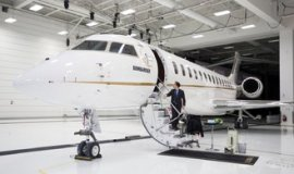 Leaving continues.  Bombardier is negotiating the sale of private jets