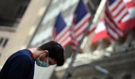 The US economy fell by a record 31.7 percent