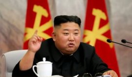 Kim Jong-un started the battle.  The leader of North Korea wants to lift the economy.  The deadline is 80 days