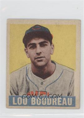 1949 Leaf #106 - Lou Boudreau MG RC (Rookie Card) - Courtesy of COMC.com